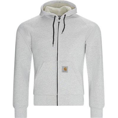 Car-Lux Hooded Jacket Regular fit | Car-Lux Hooded Jacket | Grå